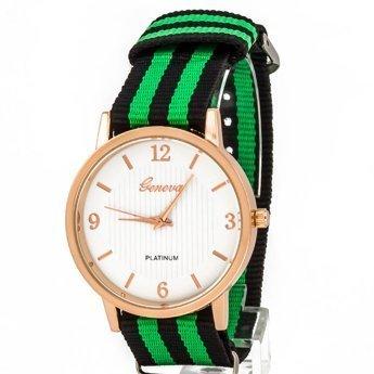Zegarek mięciutki zielony